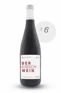 6er Box DER KIRSCHWEIN 1L 12,5 % Vol. Frucht-Dessertwein