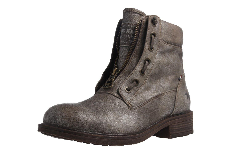 Mustang zapatos botas extragrande en talla extragrande botas grandes zapatos señora oro XXL 79d15f