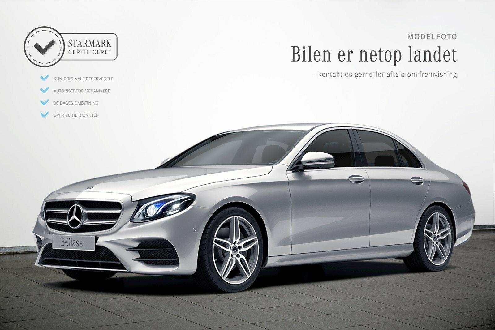 Mercedes E300 d 2,0 AMG Line aut. 4d - 659.900 kr.