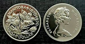 Canada-1970-Manitoba-Centennial-Proof-Like-Gem-Nickel-Dollar
