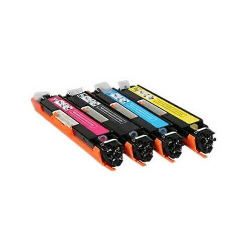 5x Toner for HP CE310A-CE313A Colour Laserjet CP1025,CP1025nw,MFP M175 126A