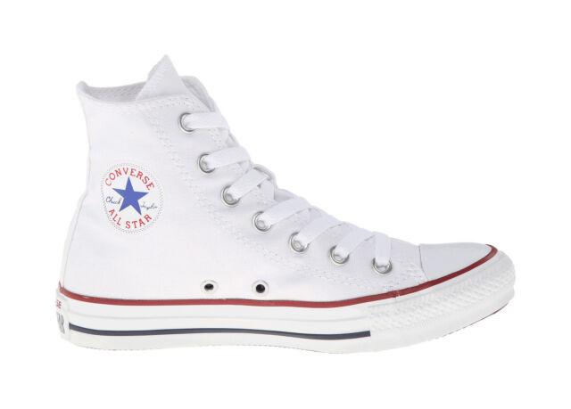 be97b38b3065 Converse Classic Chuck Taylor Shoes Hi Top Optical White Women Sneakers  M7650