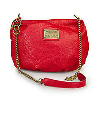 Hello Kitty Red Purse Crossbody Handbag Embossed Loungefly Licensed $60 NEW