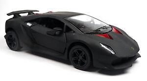 Lamborghini-Sesto-Elemento-negro-mate-modelo-de-coleccionista-aprox-13cm-articulo-nuevo-Kinsmart