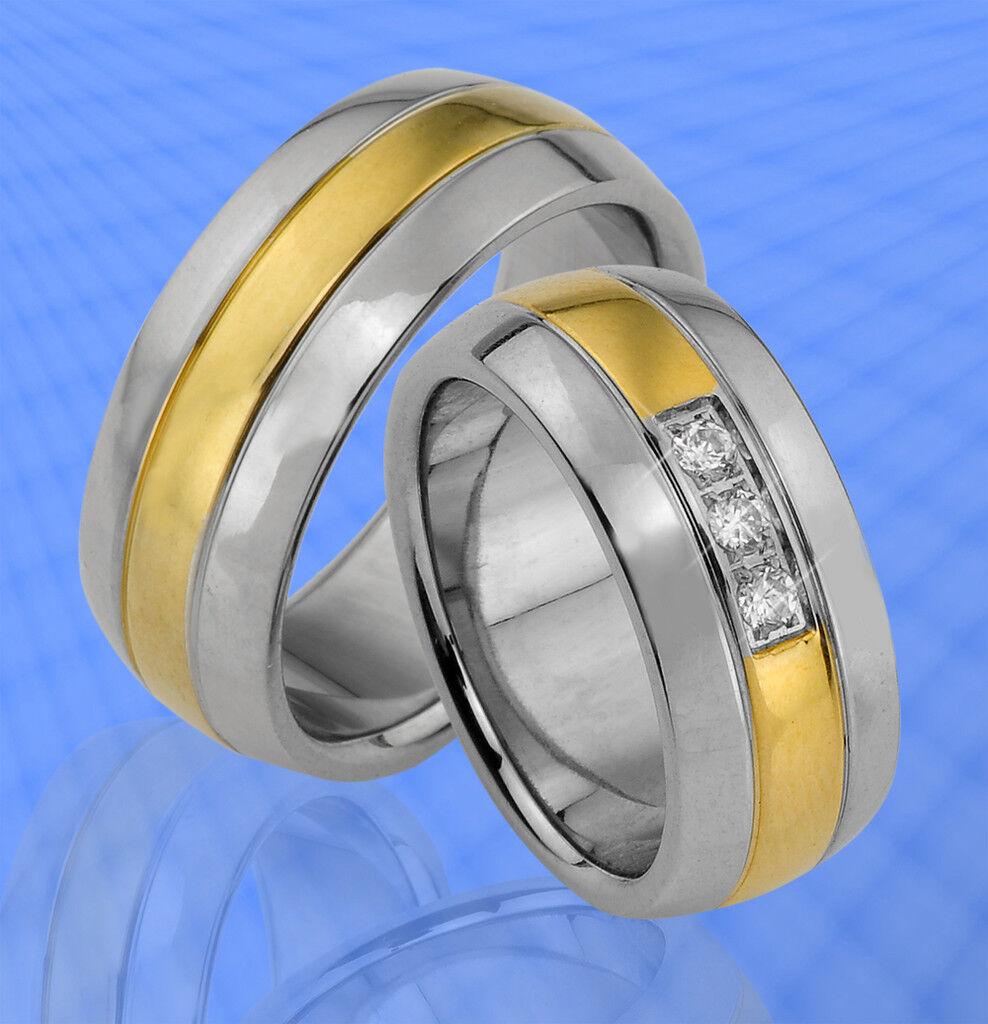 2 stupendi vere di fidanzamento con pietre & INCISIONE GRATIS-je190-3 GRATIS-je190-3 GRATIS-je190-3 5ddd1a