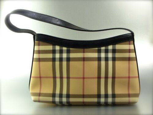 Tasche Bag Mini Nova Beige Handtasche Canvas Burberry Small Original Check zw5Ftt