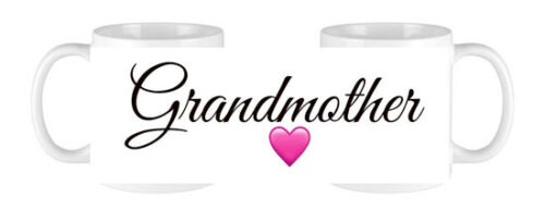 SET OF 2 MUGS PERSONALISED MUMMY/&DADDY GRANDPARENTS COFFEE MUG CUP PRESENT GIFT