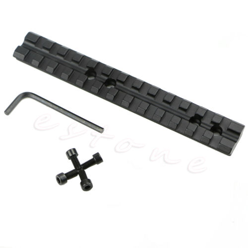 20mm Rail Scope Mount 13 Slots Fit For Rifle Shotgun New