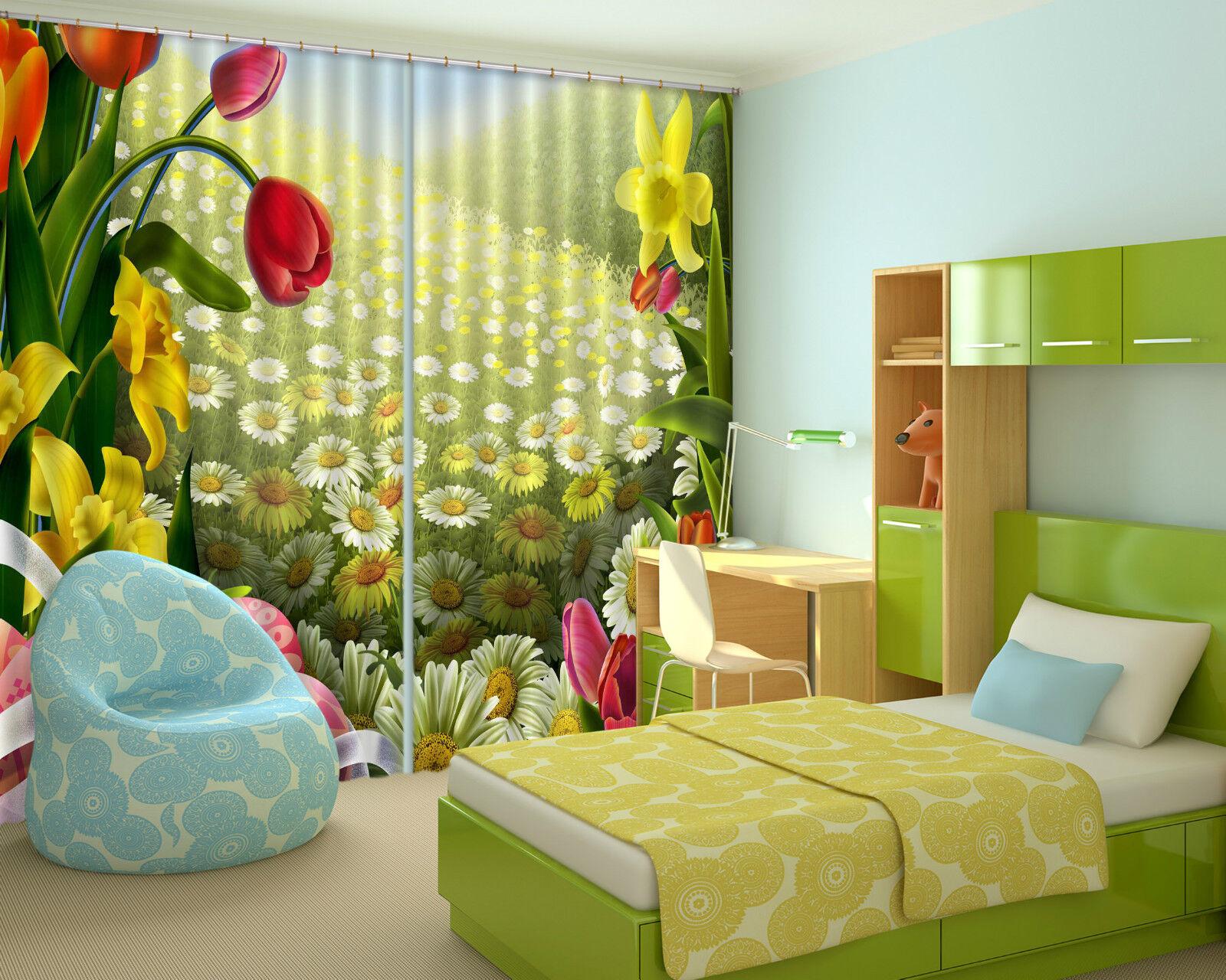 3d fiori arte 739 blocco foto sipario pressione sipario tende tessuto finestra de