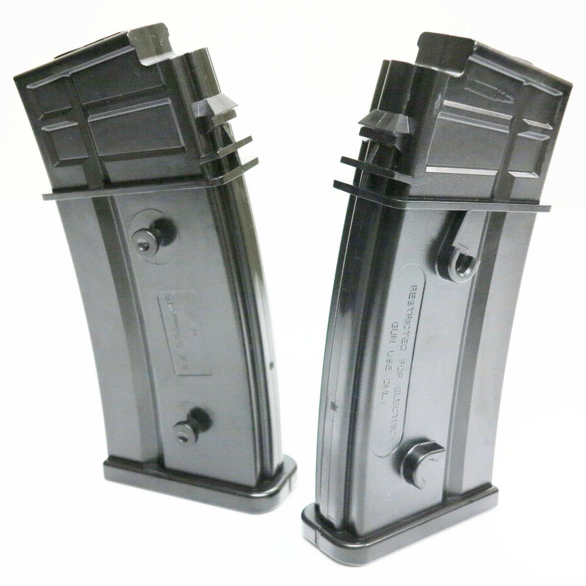 Airsoft 2pcs MAG 100rd Mid-Cap Magazine for Marui King Arms CA G36 G36C G36K AEG