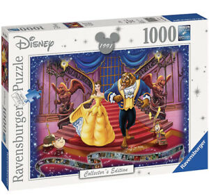 Nuevo-Sellado-Ravensburger-Disney-belleza-y-la-bestia-Edicion-Coleccionista-Puzzle-1000