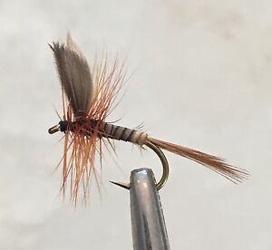DAD-039-S-FAVOURITE-MIXED-DOZEN-DRY-FLY-FISHING-FLIES-6-x-14-6-x-18