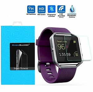 Premium-Tempered-Glass-Screen-Protector-Guard-for-Fitbit-Blaze-Smart-Watch
