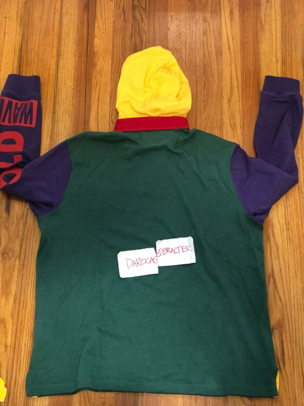 Polo Ralph Lauren Snow Beach Cold Wave Rugby XL - image 2