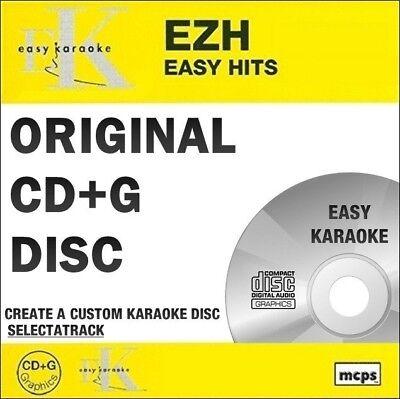 Easy Karaoke Hits Cdg Disc Ezh77 - Easy Chart Hits