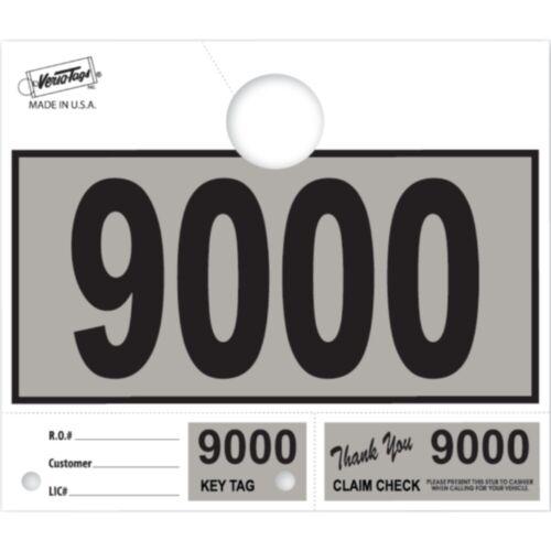 1000 Car Dealer Service Dispatch Hang Tags Mechanic Repair Shop 3 Piece System