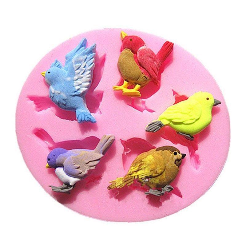 3D Cute Birds