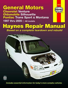 haynes repair manual venture silhouette trans sport montana 97 to rh ebay com Craftsman Lawn Tractor Repair Manual Clark Forklift Repair Manual