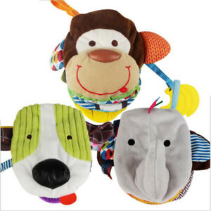 Rattles-Animal-Cloth-Book-Baby-Development-Books-Learning-Education-Toys-LG