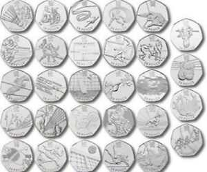 Olympic 50p Fifty Pence  Great British Coin Hunt  rare commemorative 2012 - London, United Kingdom - Olympic 50p Fifty Pence  Great British Coin Hunt  rare commemorative 2012 - London, United Kingdom