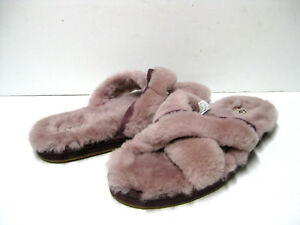 b7622149fb08 Image is loading UGG-ABELA-WOMEN-SLIPPERS-DUSK-US-9-UK-