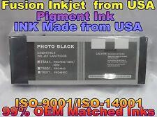Epson Stylus Pro 4000 7600 9600 Photo Black compatible phk pigment ink cartridge