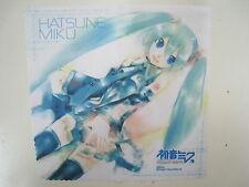 PSP Game Vocaloid Hatsune Miku Project DIVA Promo Furoku Cleaner Cloth Japan