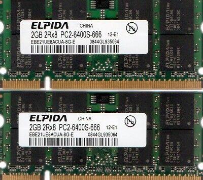 2x2GB memory 5315 B2 4GB KIT RAM for Acer Aspire 5100 5610 Series