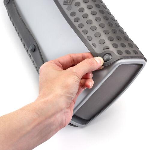 New Polder Dish Rack Mat Drainer Fold Away Holder Roll Up