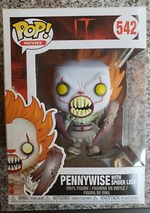 Movie IT Pennywise with spider legs 542 NEW !!! Funko POP