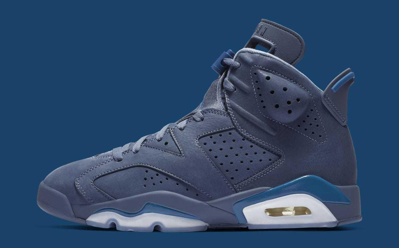 Nike Air Jordan 6 VI Retro Diffused bluee Size 8.5. 384664-400