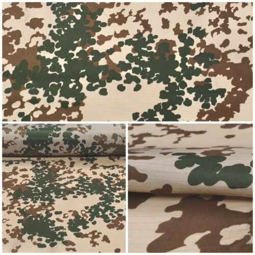 FLECTARN CAMUFLAJE ripstop sustancia tarndruck ejército alemán camuflaje decorativas nr7-2