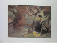 Undying Wizard by Jeffrey Jones Signed and Numbered Print 147/275