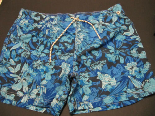 MENS LANDS END SWIM TRUNKS BOARD SHORTS SIZE XXL  2XL NEW WITH TAGS