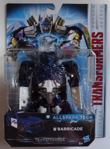 Hasbro ® c3419 Transformers The Last Knight Allspark Tech Barricade