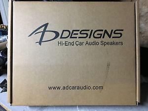 1-Pair-NEW-AD-Designs-2000-series-6-5-034-Component-speaker-Set-Rare-NIB-SQ