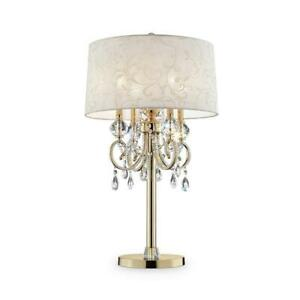 Aurora-32-5-in-Crystal-and-Gold-Table-Lamp-with-Barocco-Print-Linen-Shade