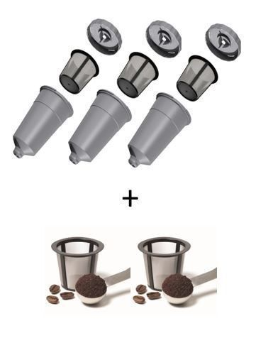 Water Filter Holder Assembly With 2 Filters Fits Keurig B31,B41,B66,B70,B77,B79