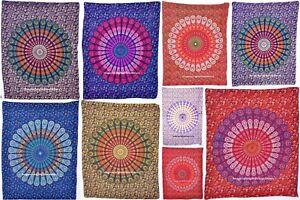 Indisk-Mandala-bomuld-Yoga-Mat-lille-Tapestry-Etnisk-tabel-Cover-hjemindretning