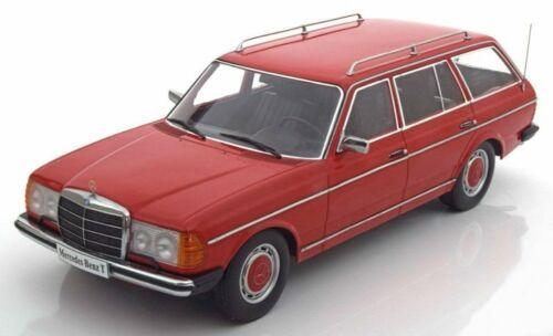 Mercedes S123 T-model 1978 Red 1:18 Model KKDC180092 KK SCALE