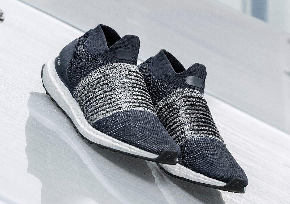 Adidas Ultraboost Laceless Navy scarpe da ginnastica Uomo Uomo Uomo US 10.5 BNIB Primeknit Boost New aebdc8