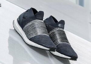 Adidas-Ultraboost-Laceless-Navy-Sneakers-Mens-US-10-5-BNIB-Primeknit-Boost-New