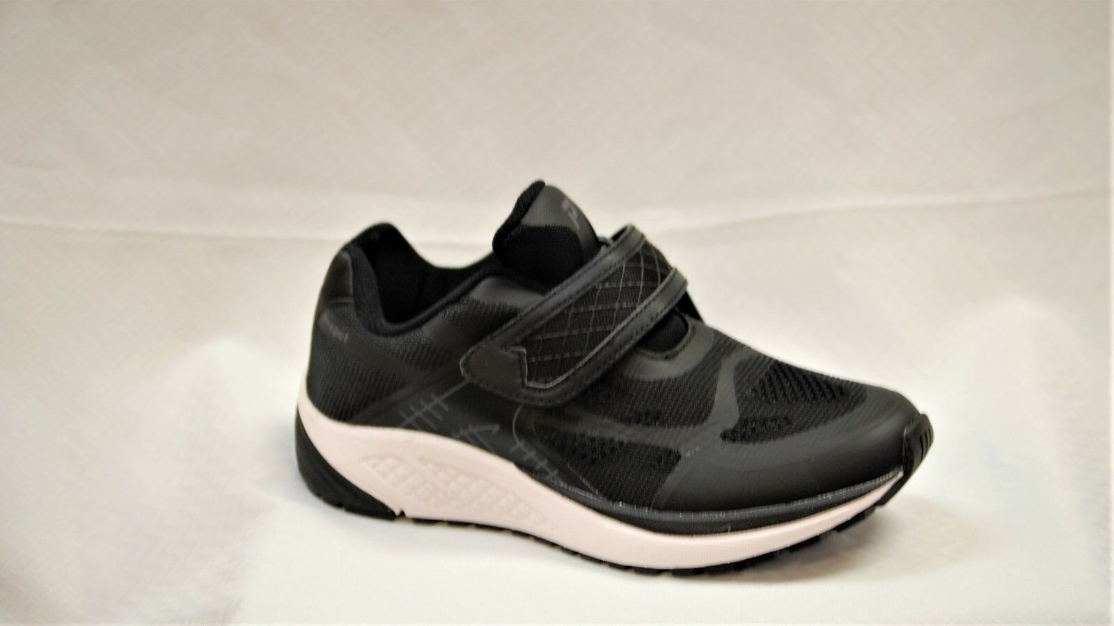 Propet una luz WAA023 correa para mujer Negro Negro Negro Caminar Zapato aprobado diabética 6.5 de ancho f703df