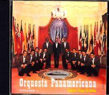 ORQUESTA PANAMERICANA - VOLUMEN 1 CON YAYO EL INDIOY - CD