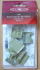 Nakajima KI-44 Shoki cockpit set resin & photoetched &film 1/48 FM Detail 480203