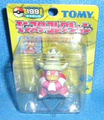 "Pokemon Slowking 2/"" Figure OOP Japan Import Takara Tomy Yellow Series #199"