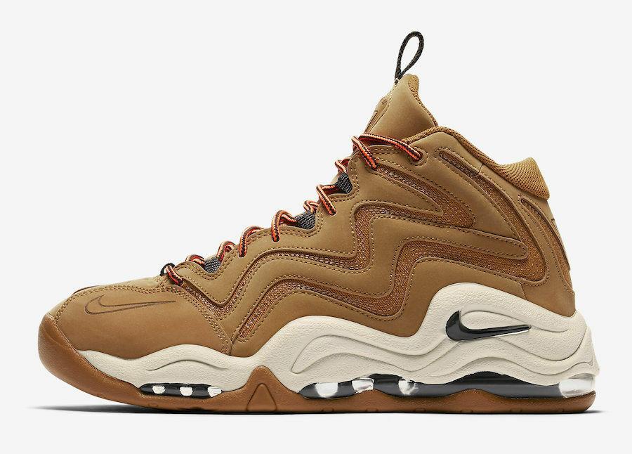 Nike Air Pippen 1 Wheat Mens Size 10 Basketball Desert Ochre 325001 700
