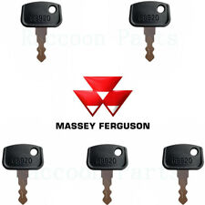 5 Massey Ferguson Compact Tractor Ignition Keys 4267379m1 Kubota Challenger