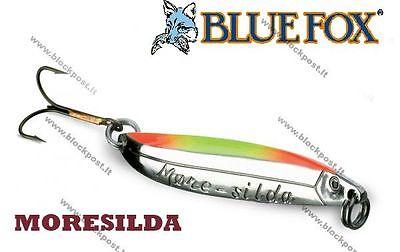 Blue Fox/Moresilda 18g Holo silver Blue