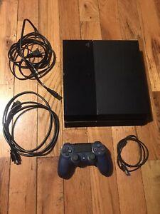 Sony PlayStation 4 PS4 500GB Console Bundle CUH-1115A Remote HDMI Blu-ray